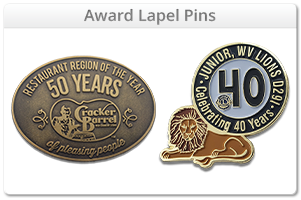 Custom Award Lapel Pins