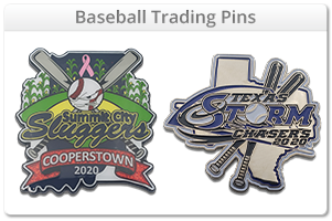 Custom Baseball Trading Pins